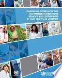 Questions courantes sur les principes directeurs relatifs aux entreprises et aux droits de l'homme