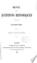questions histoiques