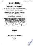 Rapport annuel sur les travaux de la Société d'histoire naturelle de l'île Maurice