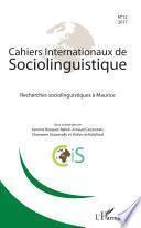 Recherches sociolinguistiques à Maurice