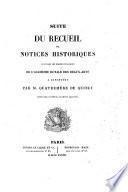 Recueil De Notices Historiques Lues Dans Les Séances Publiques De L'Académie Royale Des Beaux-Arts A L'Institut
