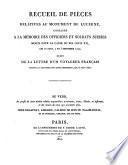 Recueil de pièces relatives au monument de Lucerne, consacré a la mèmoire des officiers et soldats suisses morts pour la cause du Roi Louis XVI, les 10 aout, 2 et 3 septembre 1792; suivi de la lettre d'un voyageur français présent a l'inauguration dudit monument, le 10 aout 1821