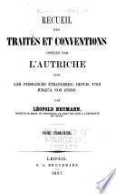Recueil des traités