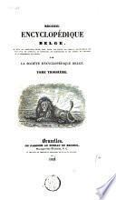 Recueil encyclopédique belge