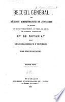 Recueil général de l'enregistrement et du notariat