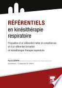 Référentiels en kinésithérapie respiratoire
