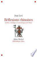 Réflexions chinoises