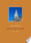Registre des bourgeois d'Arras BB51 - 1651-1693