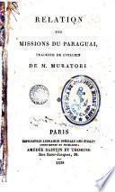 Relation des missions de Paraguay
