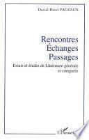 Rencontres - Echanges - Passages