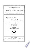 Repertory of the Comédie humaine