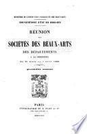 Réunion des sociétés des beaux-arts des départements ...