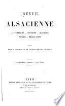 Revue alsacienne