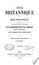 Revue Britannique ou choix d'articles traduits des meilleurs écrits périodiques da la Grande-Bretagne [etc.]