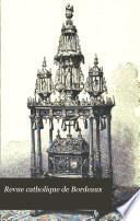 Revue catholique de Bordeaux