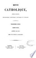 Revue catholique