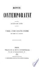 REVUE CONTEMPORAINE. 2 SERIE. - TOME SOIXANTE - ONZIEME. PARIS BUREAUX DE LA REVUE CONTEMPORAINE. 1869.