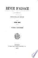 Revue d'Alsace