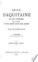 Revue d'Aquitaine et du Languedoc