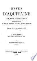 Revue d'Aquitaine