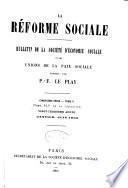 Revue d'ëconomie sociale et rurale