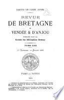 Revue de Bretagne de Vendée & d'Anjou