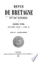 Revue de Bretagne, de Vendée et d'Anjou