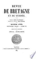 Revue de Bretagne et de Vendée