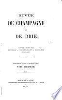 Revue de Champagne et de Brie