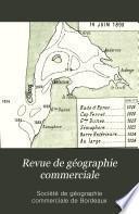Revue de géographie commerciale