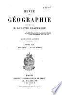 Revue de geographie