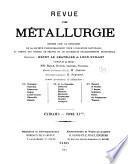 Revue de métallurgie