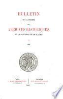 Revue de Saintonge & d'Aunis