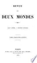 REVUE DES DEUX MONDES  XXXV ANNEE- SECONDE PERIODE