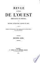 Revue des provinces de l'ouest, Bretagne et Poitou