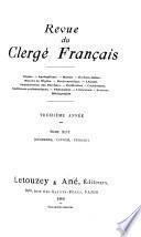 Revue du clergé français