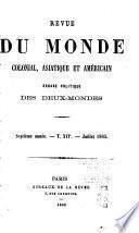 Revue du monde colonial, asiatique et américain