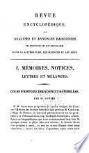 Revue encyclopédique