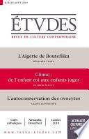 Revue Etudes - l'Algérie de Bouteflika
