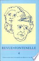 Revue Fontenelle n°4: Fontenelle entre science et rhétorique