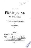 Revue française et étrangère