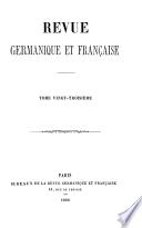 Revue Germanique