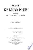Revue germanique