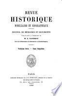 Revue héraldique, historique et nobiliaire