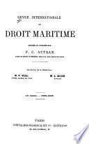Revue internationale du droit maritime