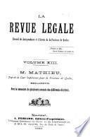 Revue légale