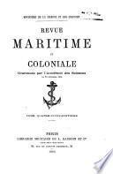 Revue maritime et coloniale