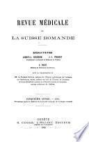 Revue médicale de la Suisse romande