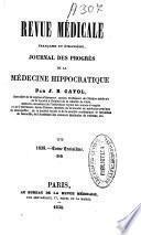 Revue médicale française et étrangère