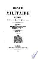 Revue militaire belge